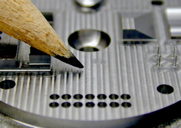 STATE OF THE ART MICROMACHINING CNC SERVICE