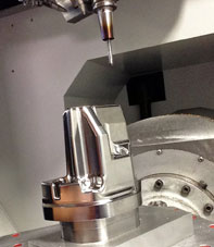 Precision 5 axis milling services